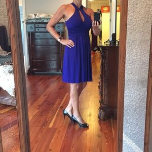 Cocktail dress size L Royal blue